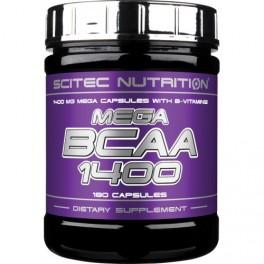 Scitec Nutrition Mega BCAA 1400  180 табл