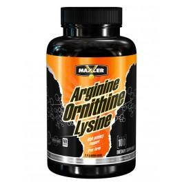Maxler Arginine Ornithine Lysine 100 капс