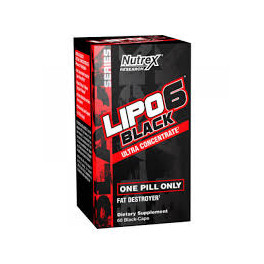 Nutrex Lipo-6 Black Ultra Concentrate 60 капс